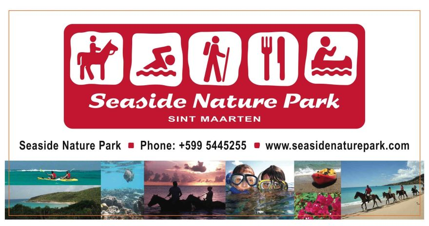 seaside nature park old banner logo